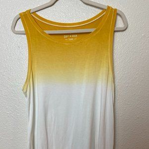 AMERICAN EAGLE Soft & Sexy Gradient Tank Top